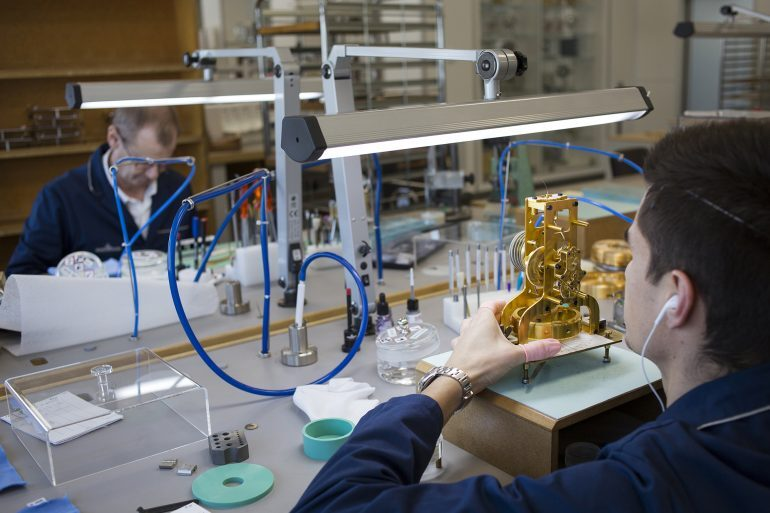 Inside The Manufacture: A Visit To the Atmos Workshop At Jaeger-LeCoultre