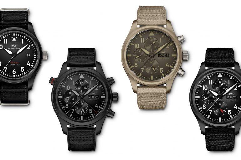 Introducing: Four New Additions To The IWC Pilot's Top Gun Collection