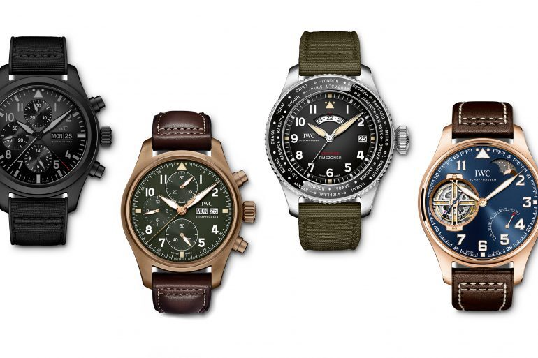 Introducing: Four New Pilot's Watches From IWC's SIHH 2019 Line-Up