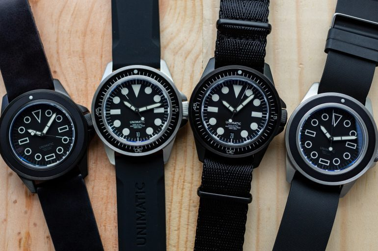 Introducing: Four New U1 Divers From Unimatic (Live Pics & Pricing)