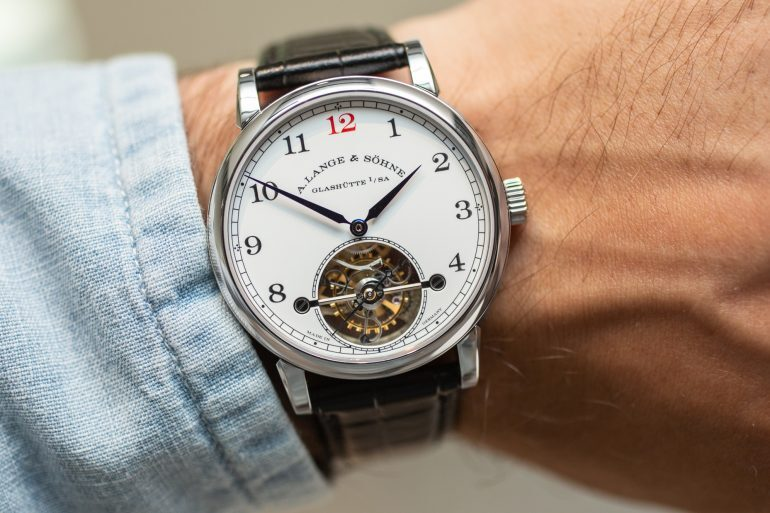 Introducing: The A. Lange & Sohne 1815 Tourbillon With Enamel Dial Limited Edition (Live Pics & Pricing)