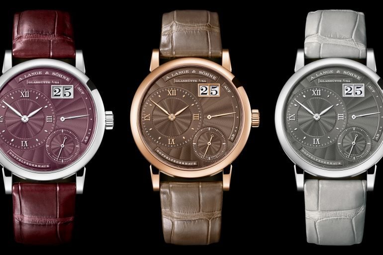 Introducing: The A. Lange & Söhne Little Lange 1 With Guilloché Dials