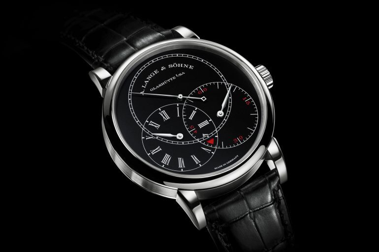 Introducing: The A. Lange & Söhne Richard Lange Jumping Seconds In White Gold With Black Dial