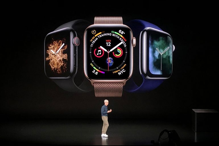 Introducing: The Apple Watch Series 4 (Live Pics & Pricing)