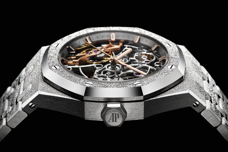 Introducing: The Audemars Piguet Frosted Gold Royal Oak Double Balance Wheel Openworked