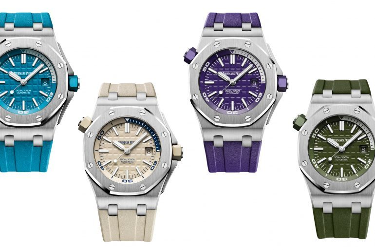 Introducing: The Audemars Piguet Royal Oak Offshore Diver In New Colors For 2018
