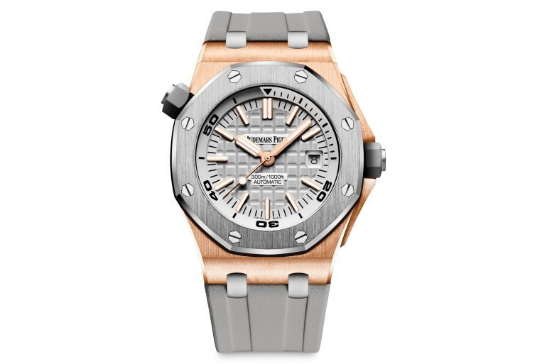 Introducing: The Audemars Piguet Royal Oak Offshore Diver In Pink Gold And Grey Ceramic