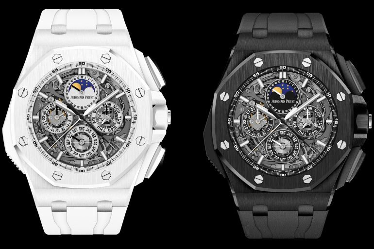 Introducing: The Audemars Piguet Royal Oak Offshore Grande Complication In White And Black Ceramic