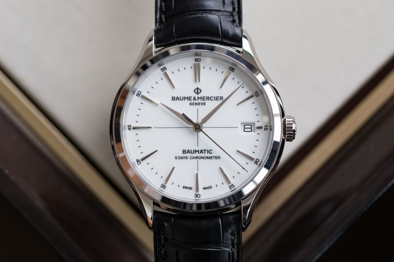 Introducing: The Baume & Mercier Clifton Baumatic, A Five-Day Chronometer With New Silicon Technology