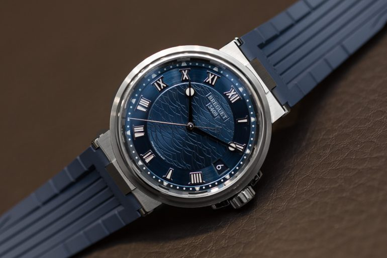 Introducing: The Breguet Marine 5517 (Live Pics & Pricing)
