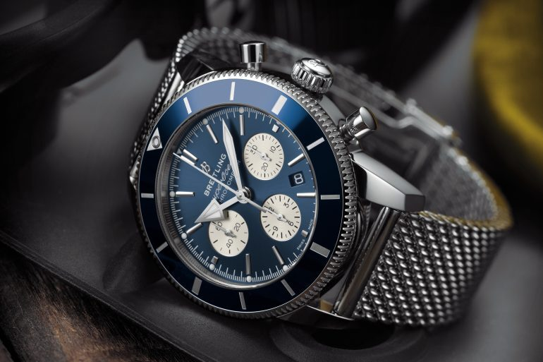 Introducing: The Breitling Superocean Heritage II B01 Chronograph 44