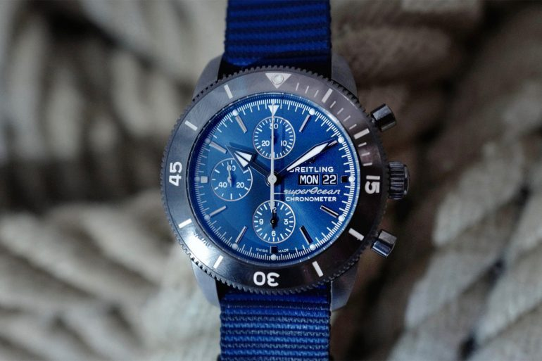 Introducing: The Breitling Superocean Héritage II Chronograph 44 Outerknown