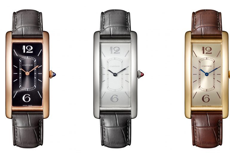 Introducing: The Cartier Tank Cintrée In Three New Editions