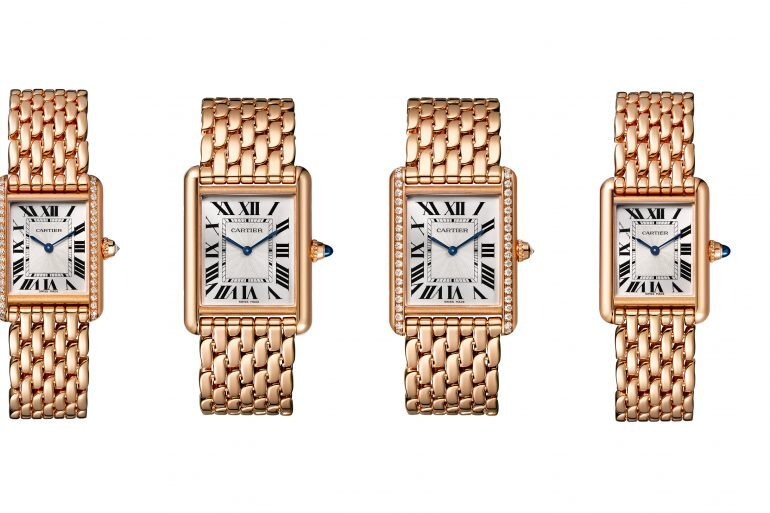 Introducing: The Cartier Tank Louis Cartier In Rose Gold With Matching Bracelet