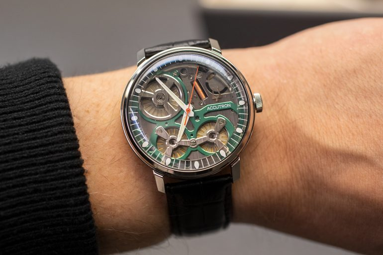 Introducing: The Electrostatic Accutron Concept Movement, Released Ahead Of Accutron's 60th Anniversary