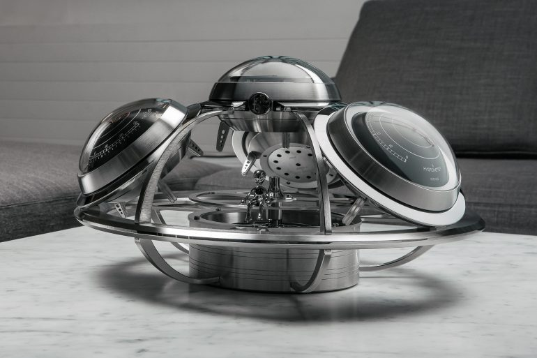 Introducing: The Fifth Element – A Desktop Weather Station By MB&F And L'Epée 1839