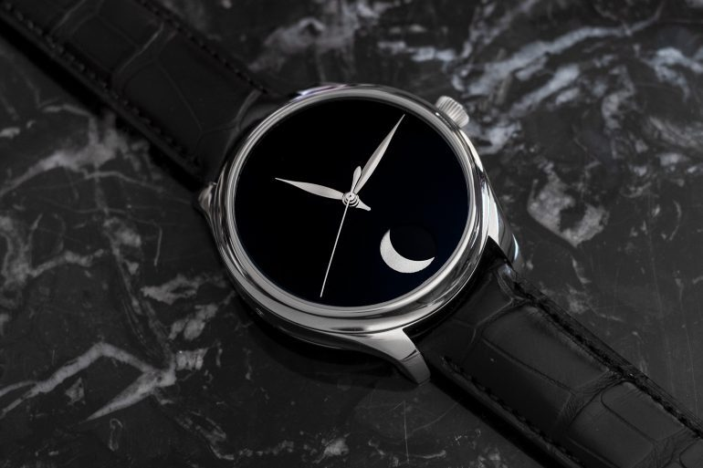 Introducing: The H. Moser Endeavour Perpetual Moon Concept With Vantablack Dial (Live Pics & Pricing)