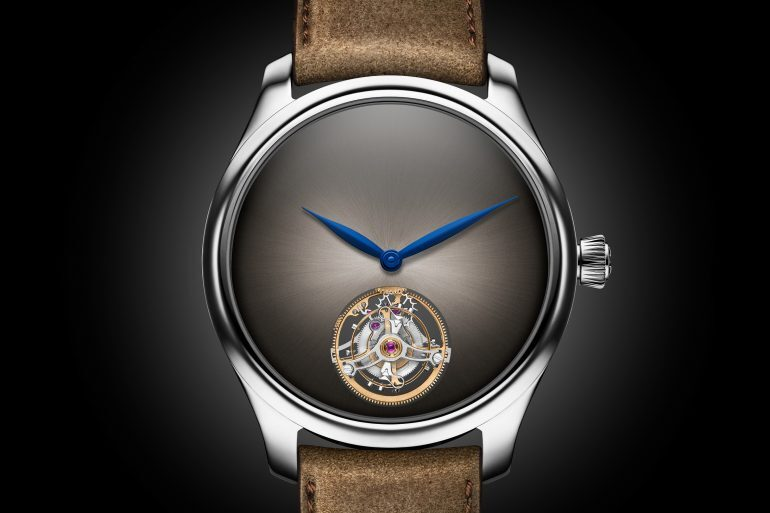 Introducing: The H. Moser Endeavour Tourbillon Concept In Stainless Steel