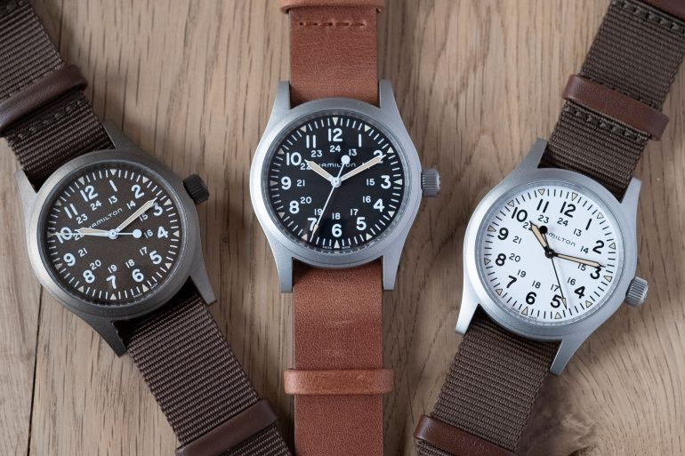 Introducing: The Hamilton Khaki Field Mechanical In New Colors (Live Pics & Pricing)