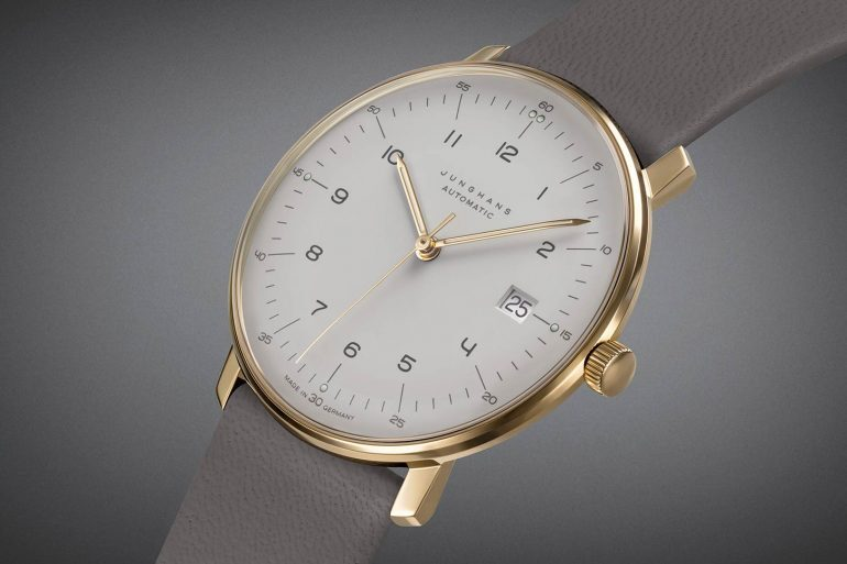 Introducing: The Junghans Max Bill Automatic 'Soft Gold' Editions