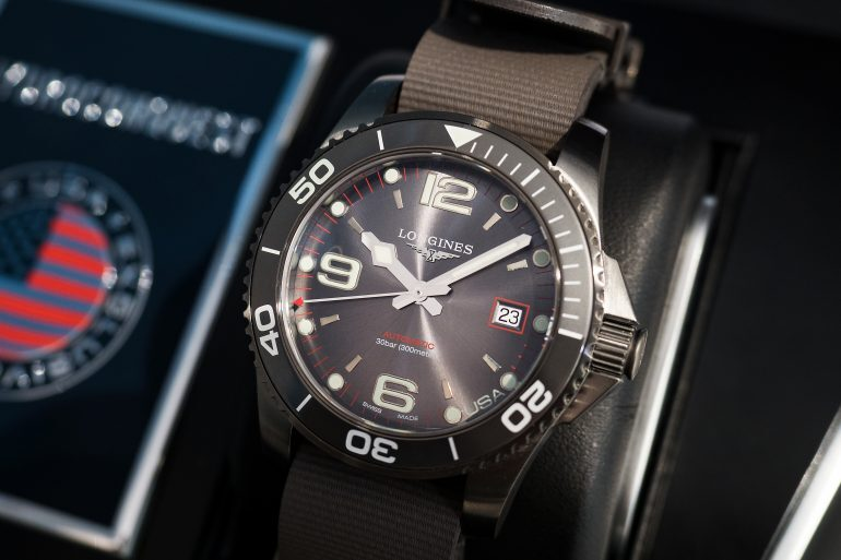 Introducing: The Longines HydroConquest U.S. Exclusive Limited Edition