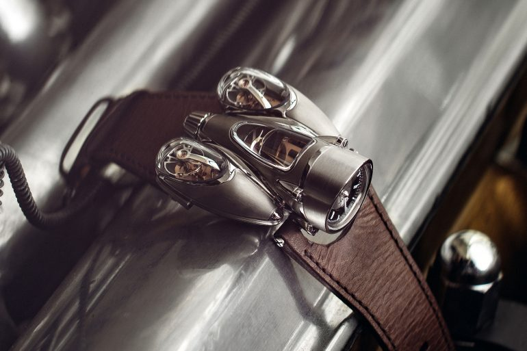Introducing: The MB&F Horological Machine No. 9 'Flow'