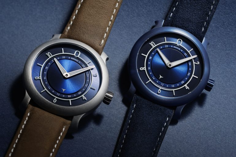 Introducing: The Ming First Anniversary 17.03 Ultra Blue And Blue Editions