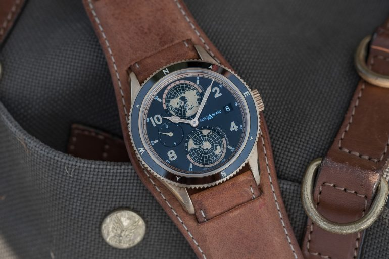 Introducing: The Montblanc 1858 Geosphere (Live Pics & Pricing)