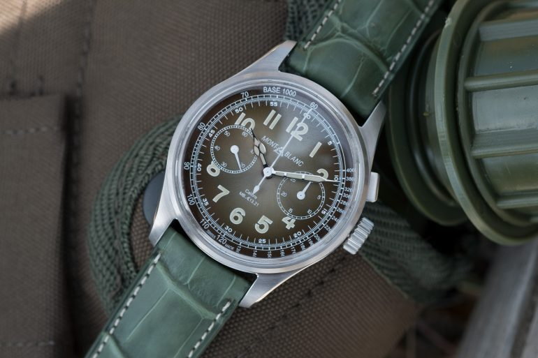 Introducing: The Montblanc 1858 Monopusher Chronograph Limited Edition 100 (Live Pics & Pricing)