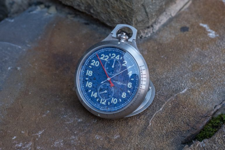 Introducing: The Montblanc 1858 Pocket Watch Limited Edition 100 (Live Pics & Pricing)