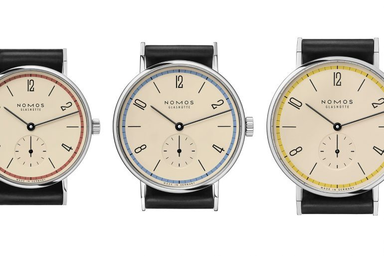 Introducing: The NOMOS Glashütte Tangente 'A Century Of Bauhaus' Limited Editions (Exclusive)