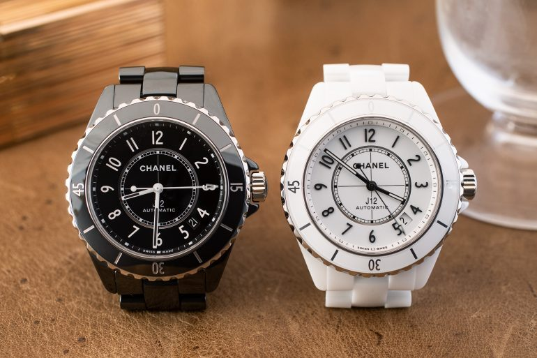 Introducing: The New And Improved Chanel J12 (Live Pics & Pricing)