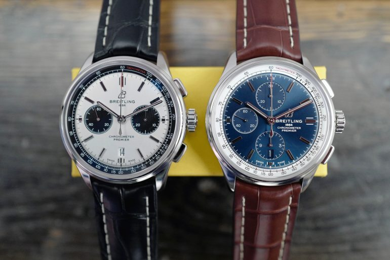 Introducing: The New Breitling Premier Collection (Live Pics & Pricing)