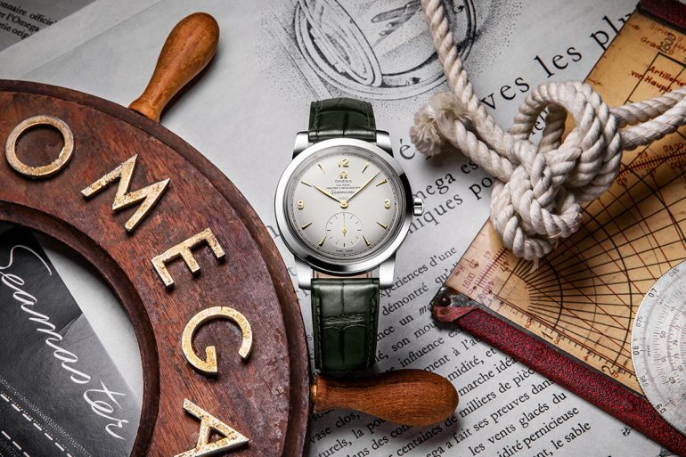 Introducing: The Omega 1948 Seamaster Platinum Limited Editions
