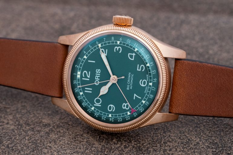 Introducing: The Oris Big Crown Pointer Date 80th Anniversary Edition (Live Pics & Pricing)