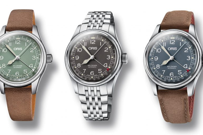 Introducing: The Oris Pointer Date Heritage