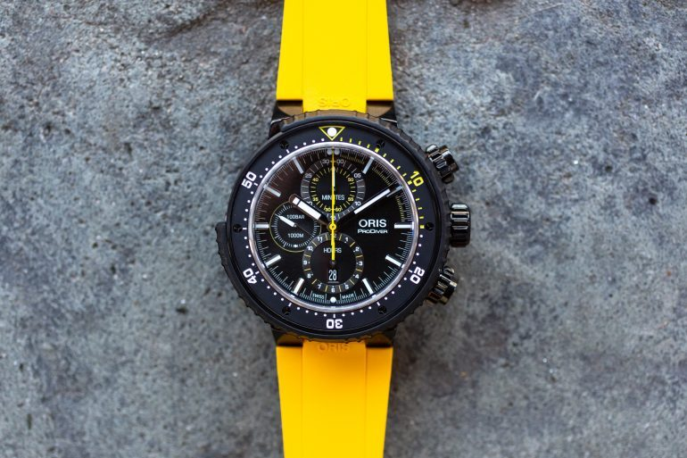 Introducing: The Oris ProDiver Dive Control Limited Edition (Live Pics & Pricing)