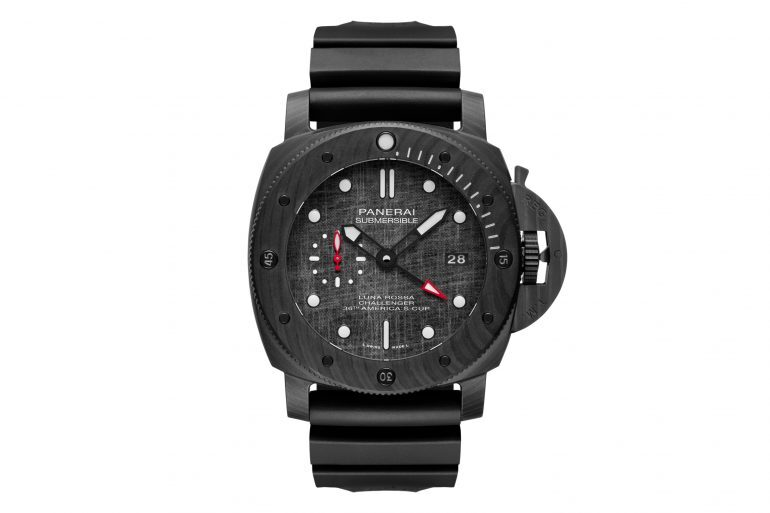 Introducing: The Panerai Luna Rossa Challenger Submersible Carbotech
