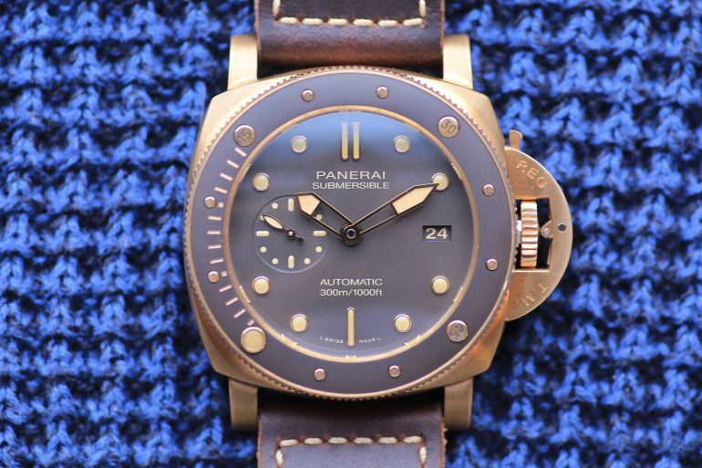 Introducing: The Panerai Submersible Bronzo PAM 968 (Live Pics & Pricing)
