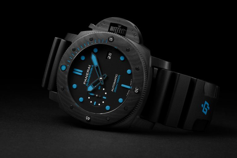 Introducing: The Panerai Submersible Carbotech