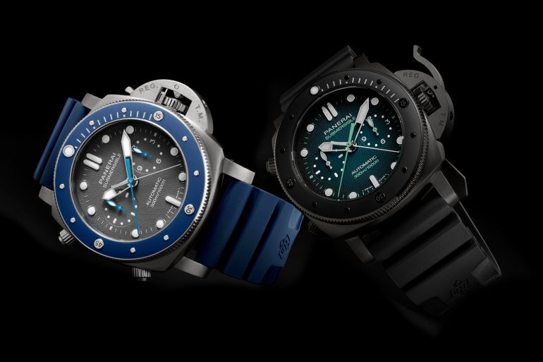 Introducing: The Panerai Submersible Chrono Guillaume Néry Edition 47mm