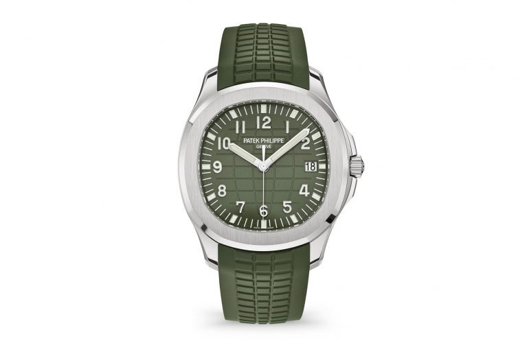 Introducing: The Patek Philippe Aquanaut 5168G With Khaki Green Dial