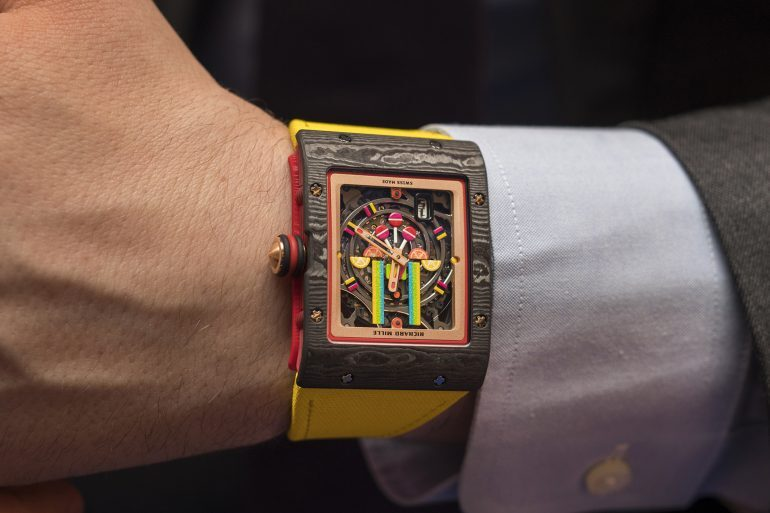Introducing: The Richard Mille RM 16-01 Fraise And The RM 07-03 Marshmallow From The Bonbon Collection (With Live Pics)