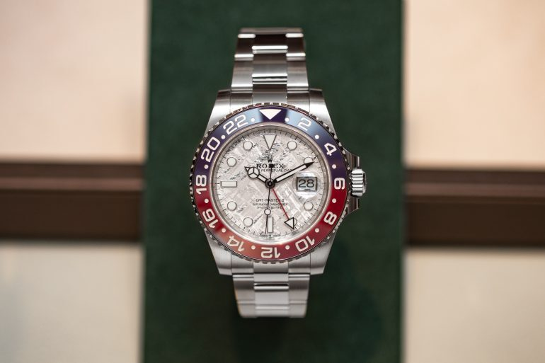 Introducing: The Rolex GMT-Master II Ref.  126719 BLRO With Meteorite Dial In White Gold (Live Pics & Pricing)