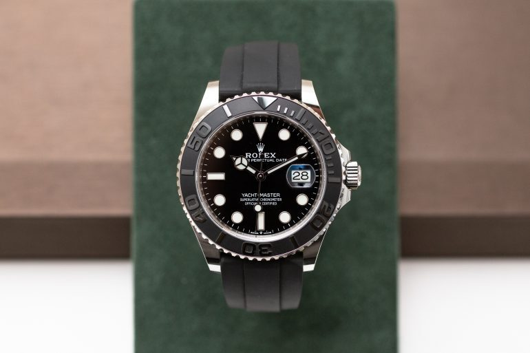 Introducing: The Rolex Yacht-Master 42 In White Gold (Live Pics & Pricing)