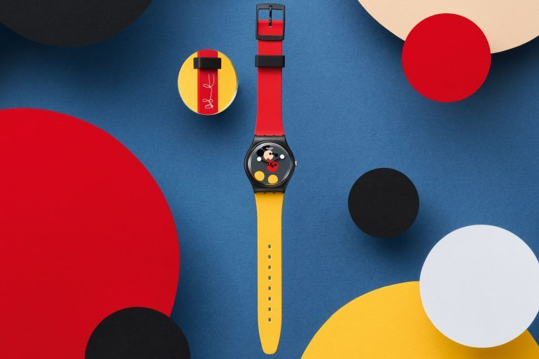 Introducing: The Swatch Spot Mickey And Mirror Spot Mickey, Designed By Damien Hirst