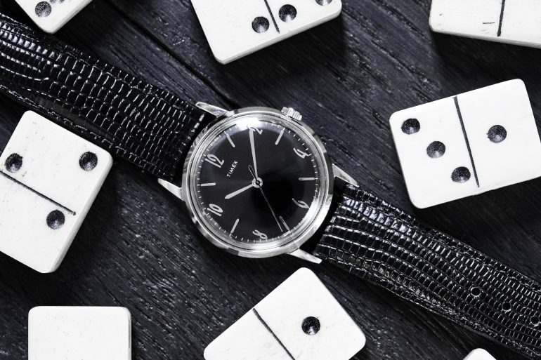 Introducing: The Timex Marlin Blackout, A Todd Snyder Exclusive