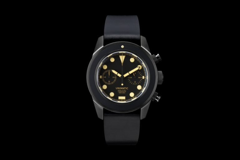 Introducing: The Unimatic U3 Dive Chronograph And U2 Field Watch