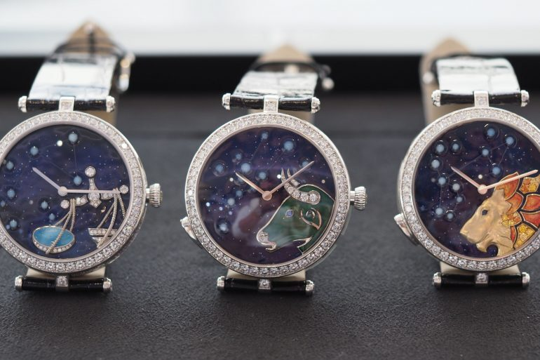 Introducing: The Van Cleef & Arpels Midnight And Lady Arpels Zodiac Lumineux (Live Pics & Pricing)