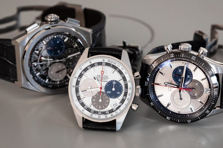 Introducing: The Zenith '50 Years Of El Primero' Anniversary Set (Live Pics & Pricing)